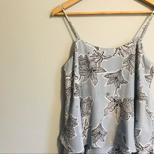 CeCe Etched Floral Shift Dress—8